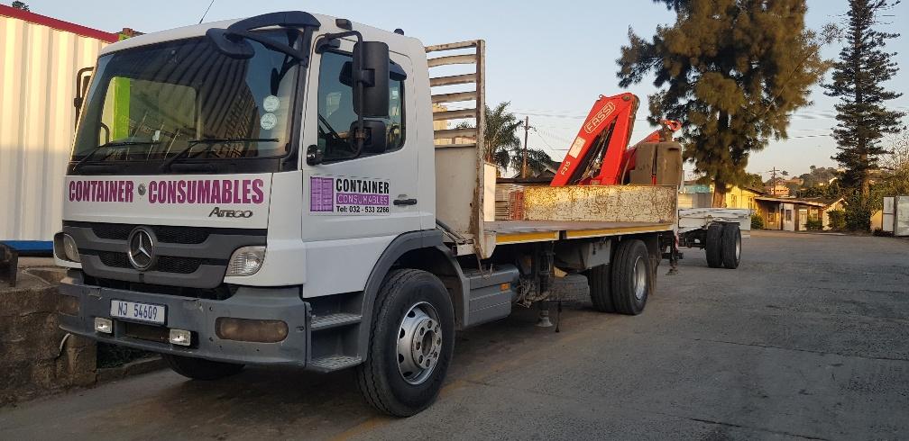 6m crane truck - transport service offered